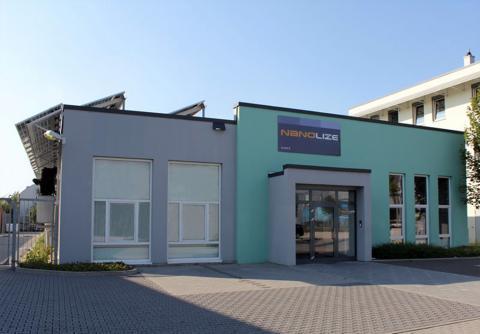 Abbildung: Firmengebäude Nanolize GmbH